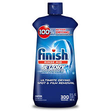 Finish Rinse Aid Jet Dry Advanced