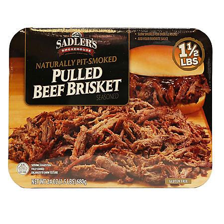 Sadler's Smokehouse Pulled Beef Brisket (1.5 lbs.)