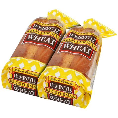 Klosterman Homestyle Wheat Bread (24 oz., 2 pk.)