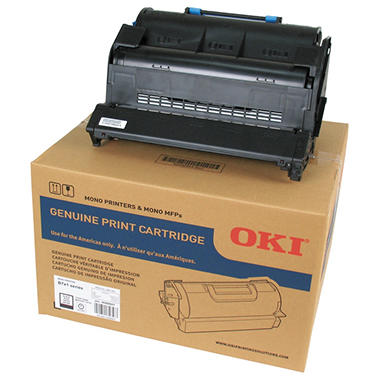 Oki - 45488801 Toner, 18,000 Page-Yield -  Black