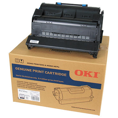 Oki - 45488901 Toner, 25,000 Page-Yield -  Black