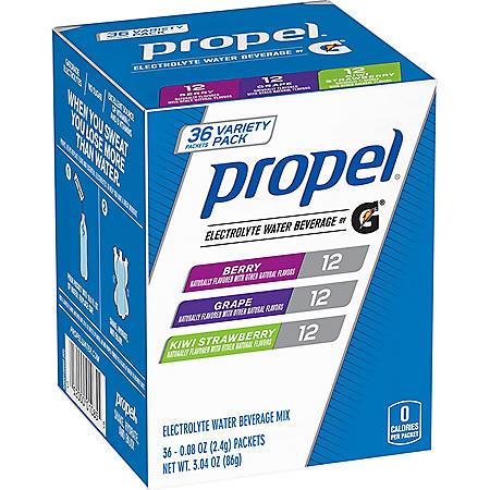 Propel Zero Powder Variety Pack (36 pk.)