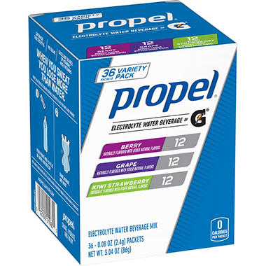 Propel Zero Powder Variety Pack (36 ct.)