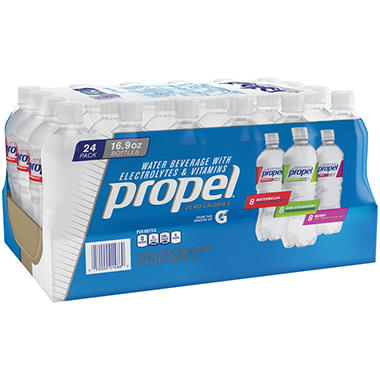 Propel Zero Water Variety Pack (16.9 oz., 24 ct.)