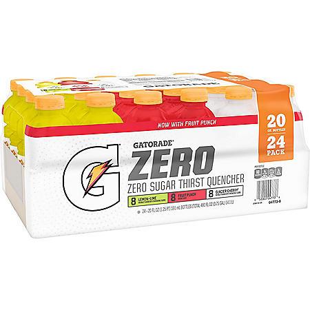 Gatorade Zero Variety Pack (20oz / 24pk)