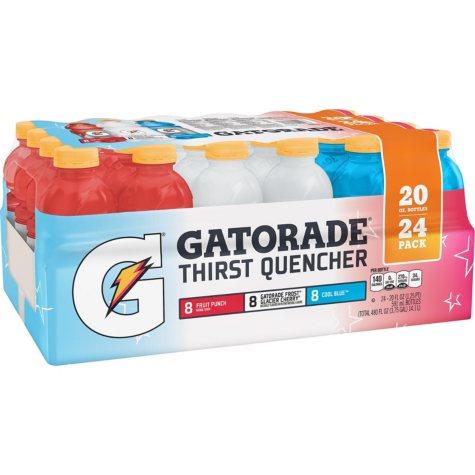 Gatorade Sports Drinks Liberty Variety Pack (20 oz., 24 pk.)