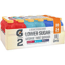 Gatorade G2 Variety Pack (20 fl. oz. bottles, 24 pk.)