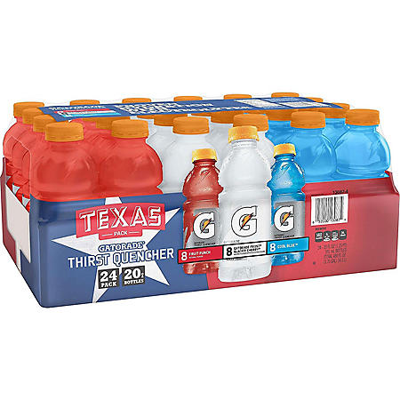 Gatorade Texas Liberty Pack (20 fl. oz., 24 pk.)