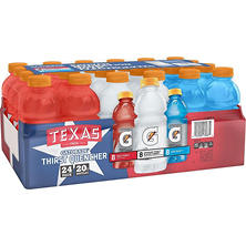 Gatorade Texas Liberty Pack (20 oz. bottles, 24 pk.)