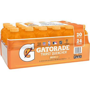 Gatorade Orange (20 fl. oz. bottles, 24 ct.)