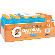 Gatorade Sports Drinks Cool Blue Pack (20 fl. oz. bottles, 24 ct.)