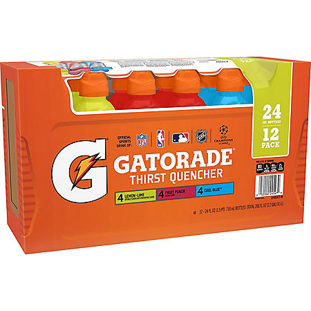 Gatorade Variety Pack (24oz / 12pk)