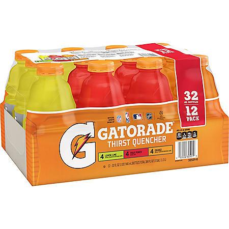 Gatorade Classic Variety Pack (32oz / 12pk)