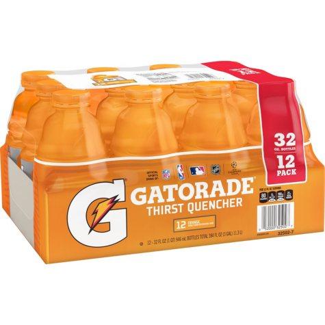 Gatorade Orange  (32 oz., 12 pk.)