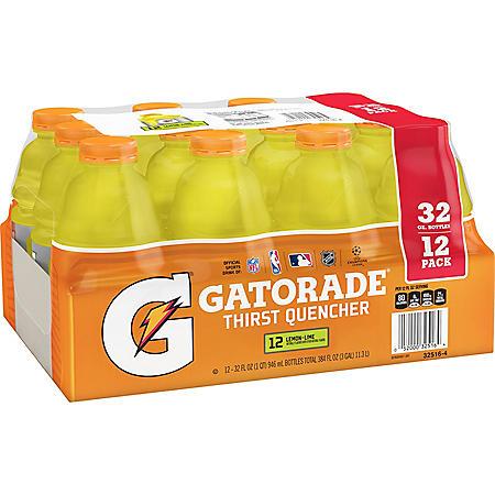 Gatorade Lemon-Lime (32oz / 12pk)