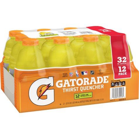 Gatorade Lemon-Lime (32 oz., 12pk.)