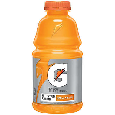 Gatorade Mango Xtremo Sports Drinks (32 oz. bottles, 12 ct.)
