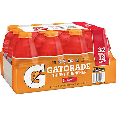 Gatorade Fruit Punch (32oz / 12pk)