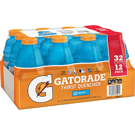 Gatorade Cool Blue (32oz /12pk)