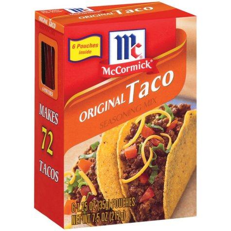 McCormick Seasoning Mixes