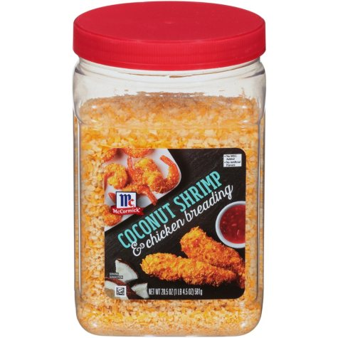 McCormick Coconut Shrimp & Chicken Breading (20.5 oz.)