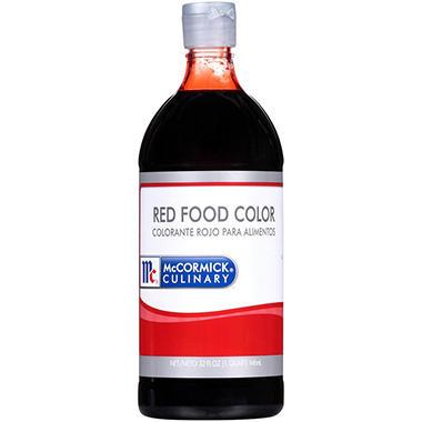 McCormick Culinary Red Food Color (32 oz.) - Sam\'s Club