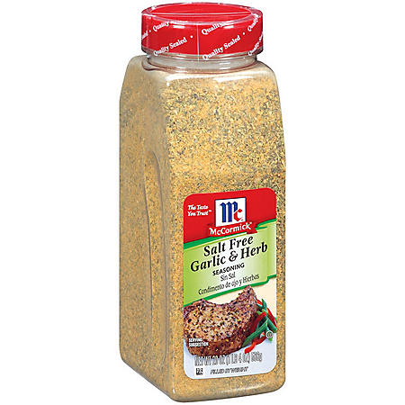 McCormick® Salt Free Garlic & Herb - 20 oz.