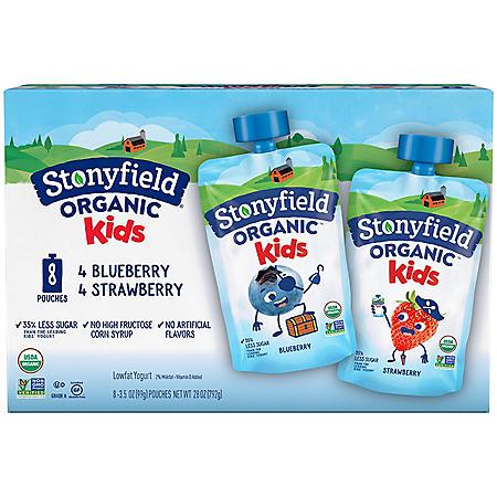 Stonyfield Organic Kids Yogurt Multipack (8 pk.)