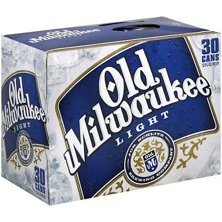 OLD MILWAUKEE LIGHT 30 / 12 OZ CANS