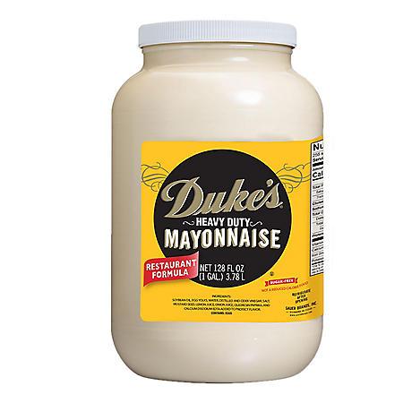 Duke's Heavy Duty Mayonnaise (128 oz.)