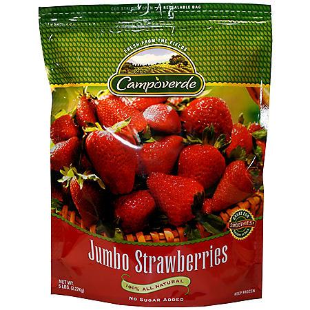 Campoverde Jumbo Strawberries - 5 lb.