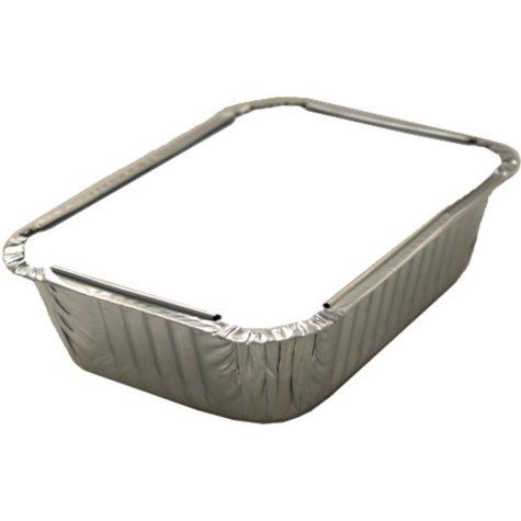 WonderFoil Foil Board Lid for 1.5 lb. Rectangle Container - 10 ct. - 50 pk.