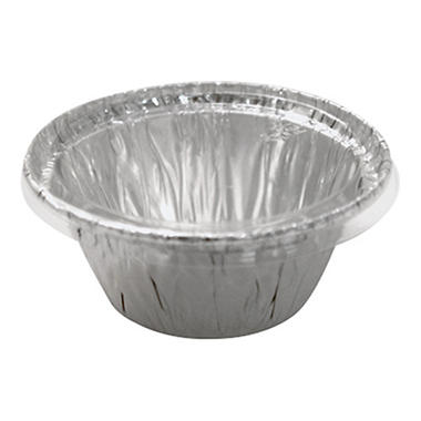 WonderFoil Clear Plastic Flat Lids - 100 ct.