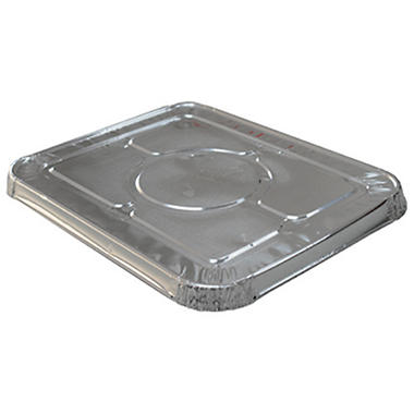 WonderFoil Aluminum Lid for Half Size Steamtable Pan - 30 ct.