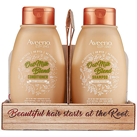 Aveeno Scalp Soothing Oat Milk Blend Shampoo and Conditioner (12 fl. oz., 2 pk.)
