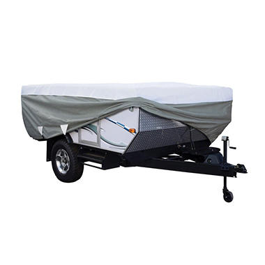 Classic Accessories OverDrive PolyPro3 Pop-up Camper Trailer RV Cover