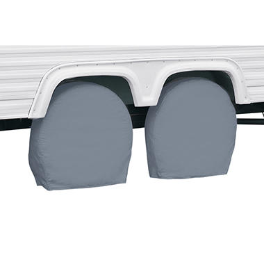 OFFLINE-Classic Accessories RV Wheel Covers - 32 inches to  34.5 inches