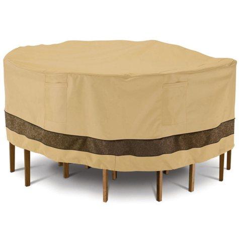 Veranda Elite Round Patio Table & Chair Set Cover