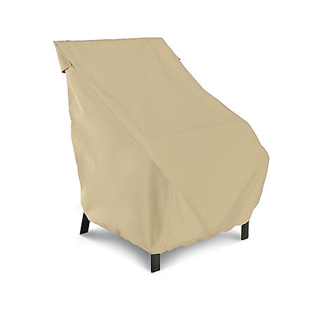"Patio Chair Cover - Sand - 27"" Backrests"