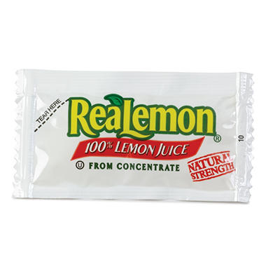 ReaLemon Lemon Juice (4g packets, 200 ct.)