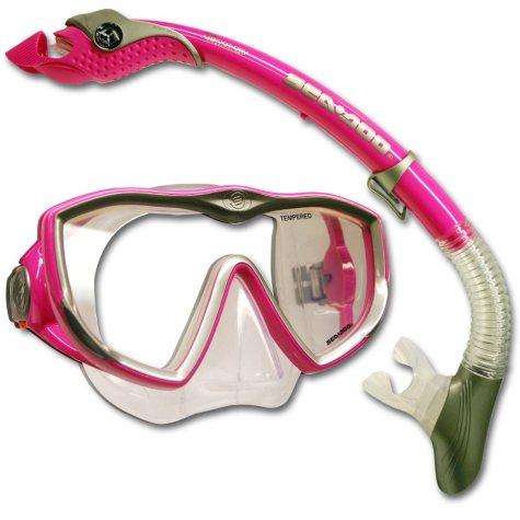 Sea Doo Diva Paradise Snorkeling Gear-Hot Pink