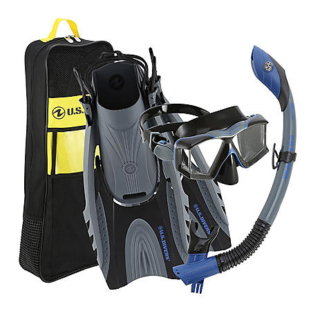U.S. Divers Adult Premium Snorkel Set