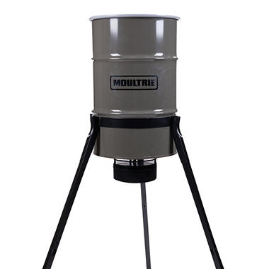 Moultrie 55-Gallon Pro Magnum Tripod Deer Feeder