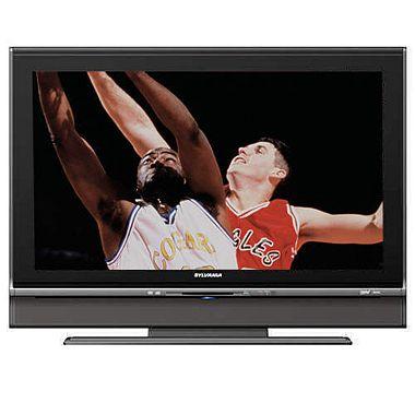 37 Sylvania LCD 720p HDTV DVD Combo