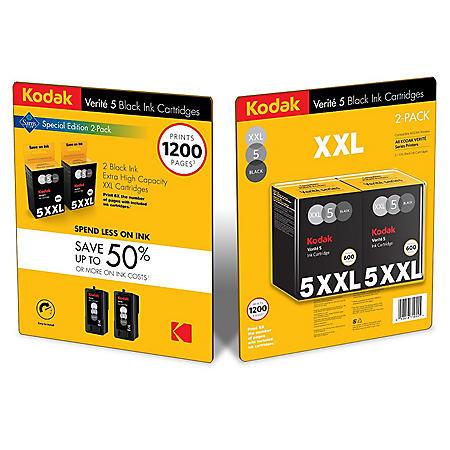 Kodak Verite5 XXL Black Ink - Sam's Club