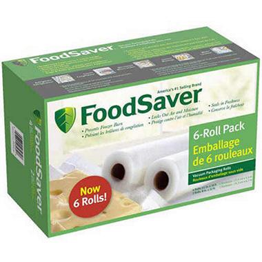 Foodsaver Combination Bags Rolls