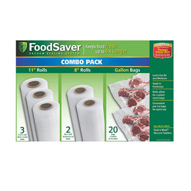 FoodSaver® Rolls and Bags
