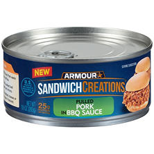 Armour Sandwich Creations Pulled Pork in BBQ Sauce (10 oz. can)