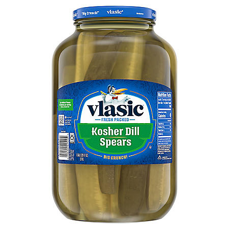 Vlasic® Kosher Dill Pickle Spears - 1 gallon jar