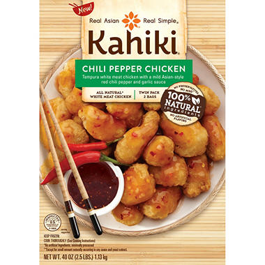 Kahiki Foods Tempura Chicken with Asian Style Sauce (20 oz. package, 2 ct.)